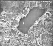 Arial image of Quamichan Lake (1946)