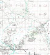 Quamichan Lake Watershed (Index to detail maps)